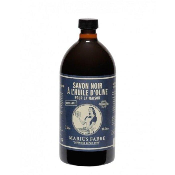 Savon Noir liquide a l'huile d'olive 1L