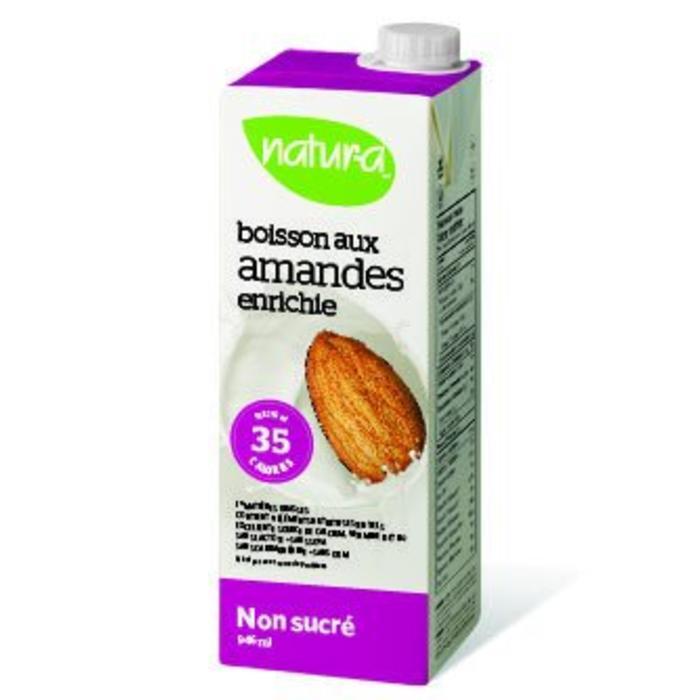 Boisson d'amandes enrichie Originale non sucre bio 946 ml
