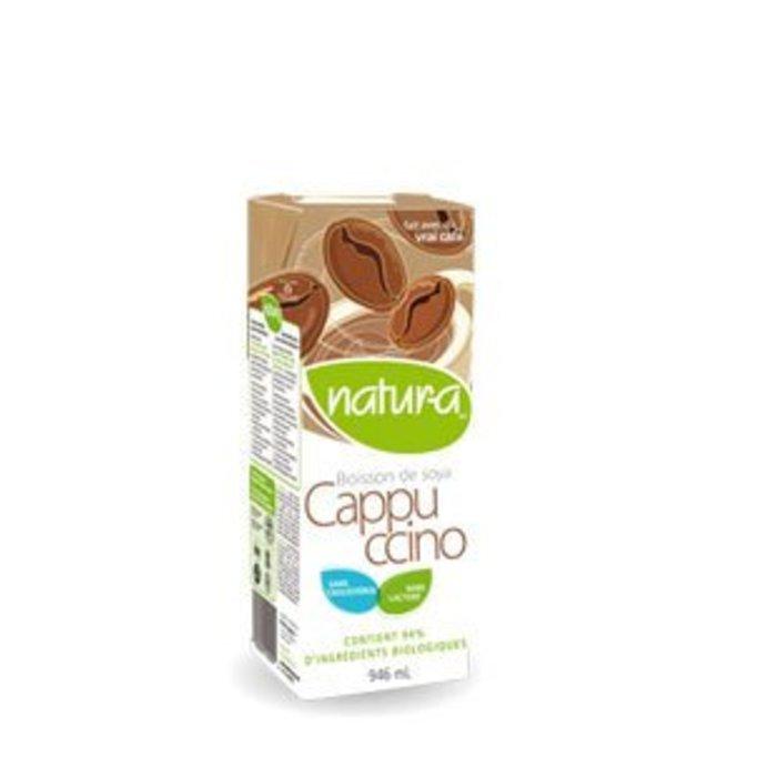 Boisson de soya enrichie Cappuccino bio 946ml