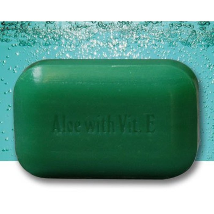 Barre de savon Aloes et vitamine E 110g