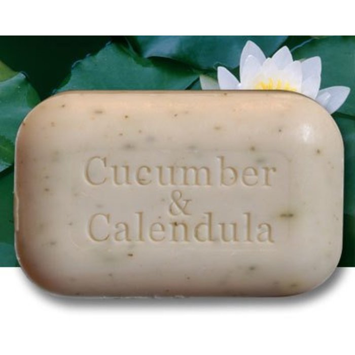 Barre de savon aux concombres et calendula 110g