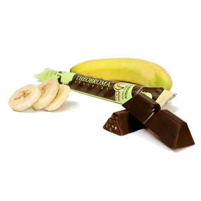 Chocolat noir Éclats de banane 35g