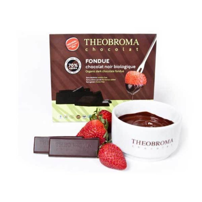 Fondue chocolat Noir 70% Bio165g
