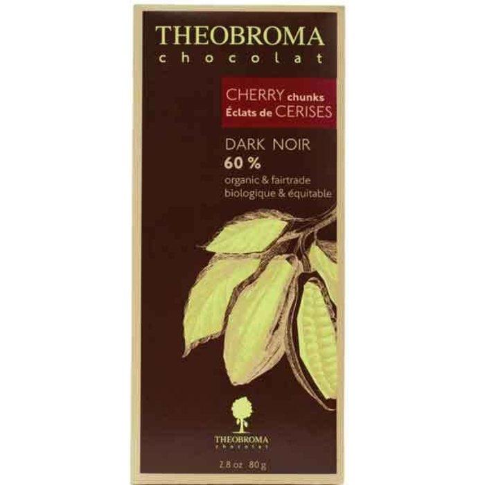 Tablette - Noir 60% & Cerise 80g