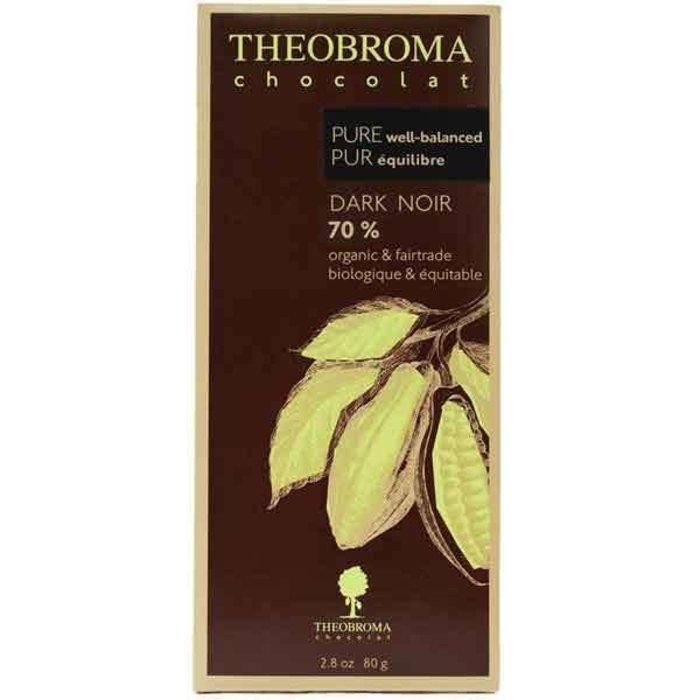 Tablette - Noir 70% pur 80g