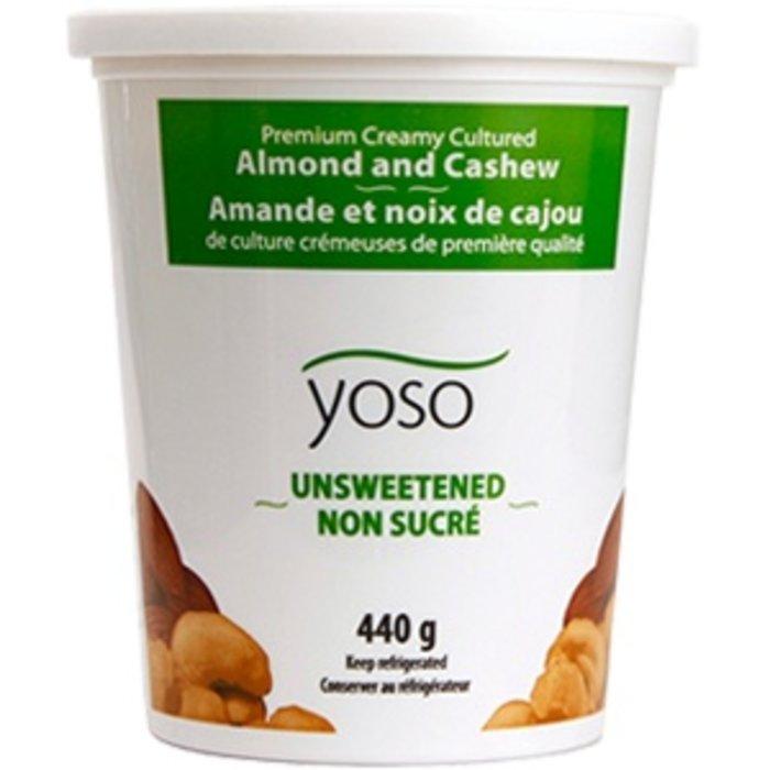 Yogourt amande cajou sans sucre 440g