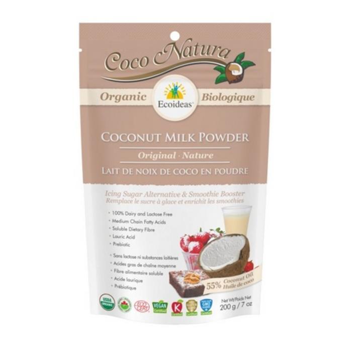 Coco Natura Poudre de lait de noix de coco bio 200g