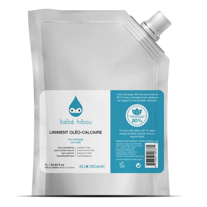 Liniment oleo-calcaire bio Recharge 1L