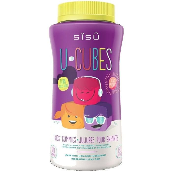 SISU Multivitamines pour enfants U-Cubes (120 vitamines)