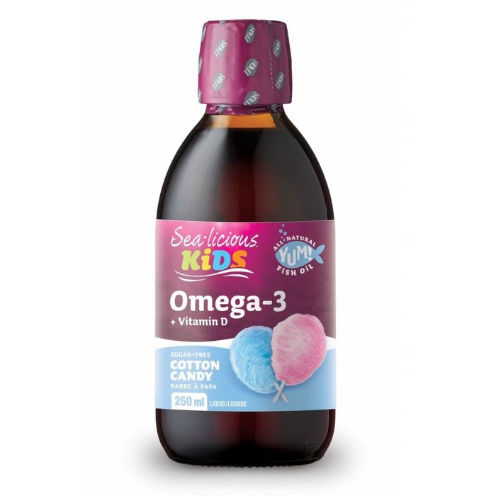 Sea-licious oméga-3 enfants barbe à papa 250ml