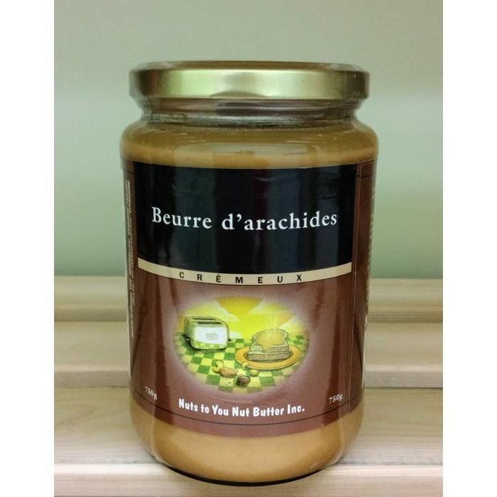 Beurre d'arachide crémeux 750 g