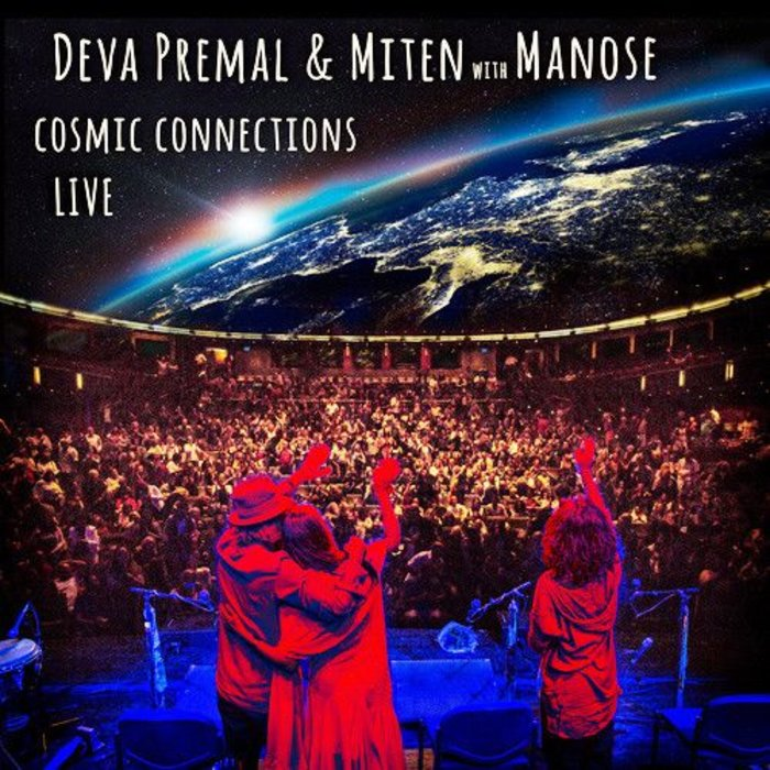 CD Cosmic Connections Live with Manose