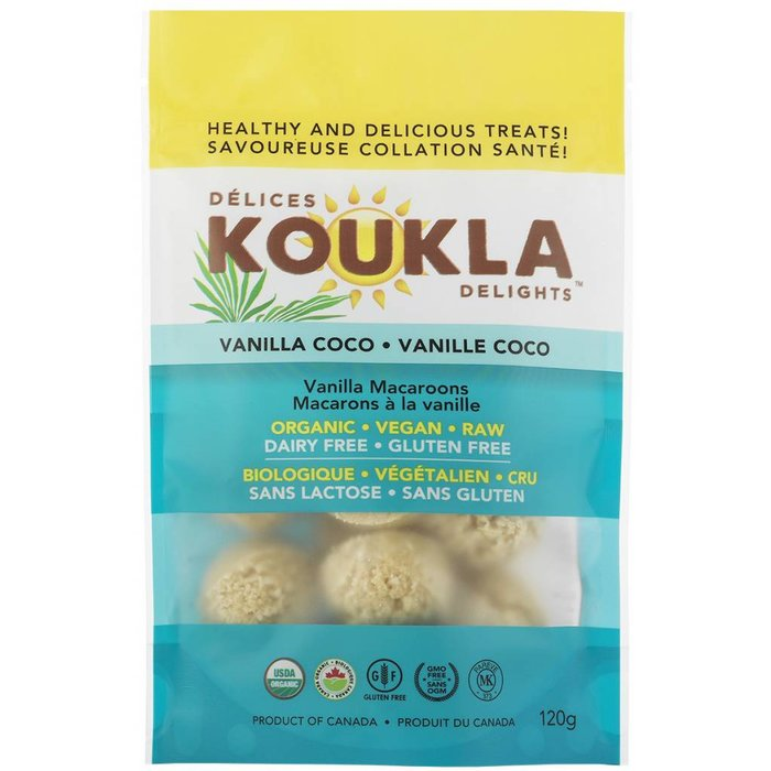 Macaron Vanille coco bio 150g