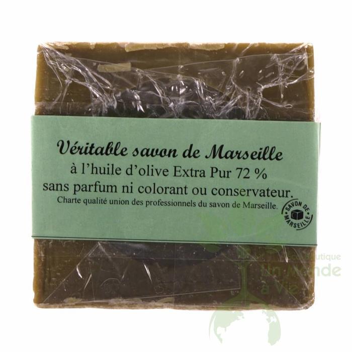 Savon Marseille 72% 250gr