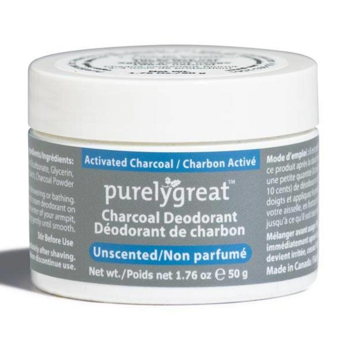 Deodorant non parfume Charbon 50g