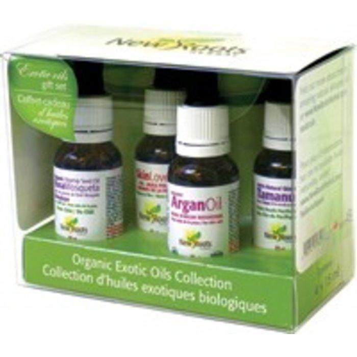 Coffret Collection d'huiles exotiques bio