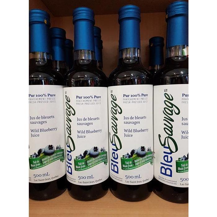 Jus de Bleuet 500 ml (bte longue)