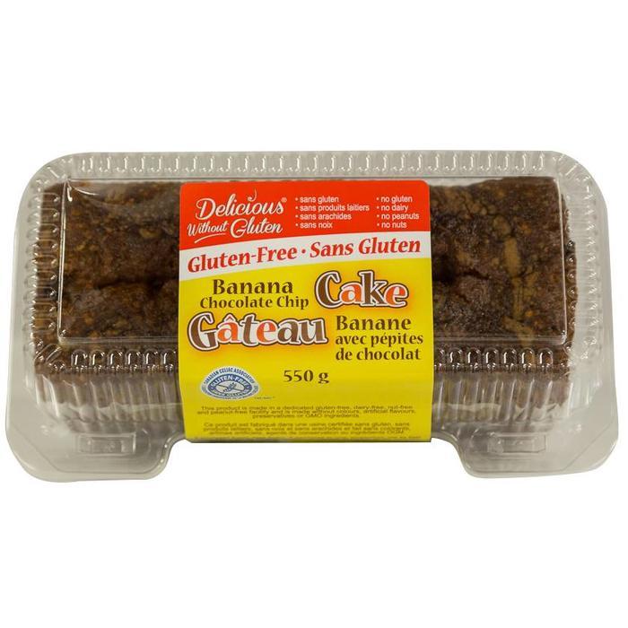 Gâteau banane chocolats 550g