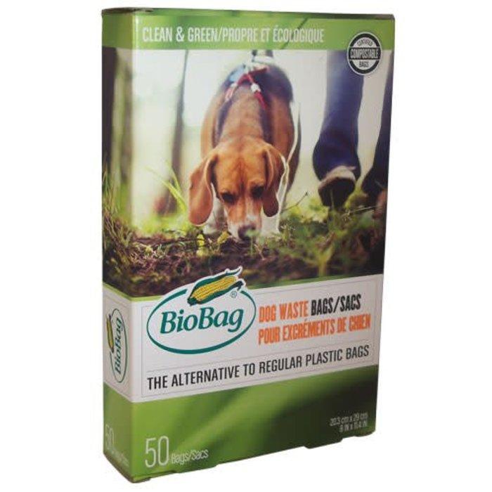 50 Sacs compostables pour excrements d'animaux