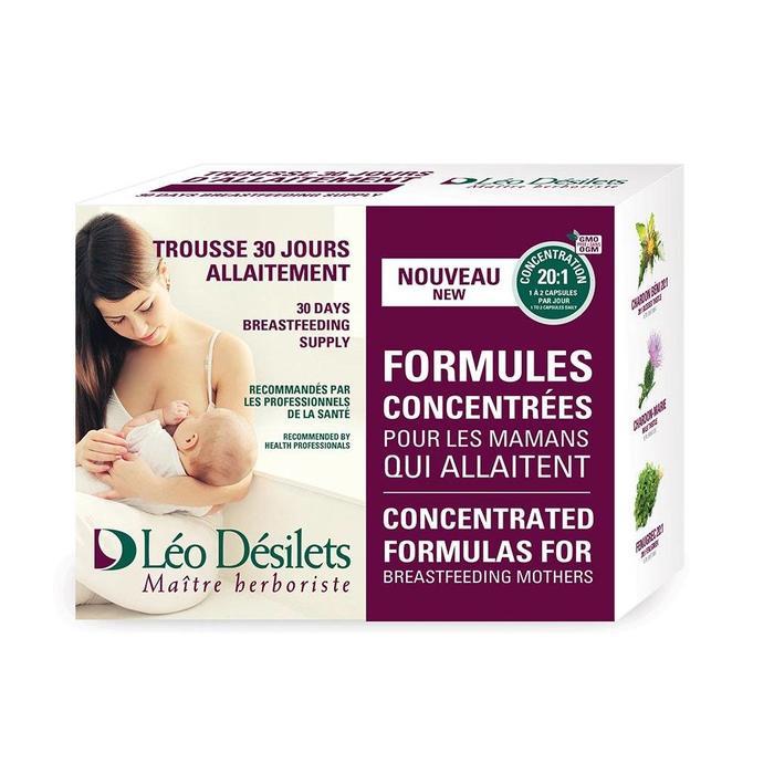 Trousse l'allaitement (chardon béni - fenugrec - chardon-marie) 30 jours