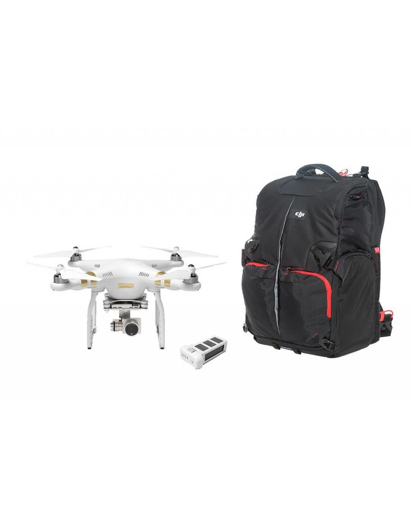 DJI Phantom 3 Professional + Extra Battery + Phantom Backpack
