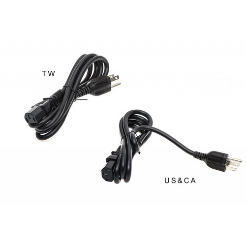 DJI Inspire 1 PART4 180W AC Power Adaptor Cable (USA & Canada)