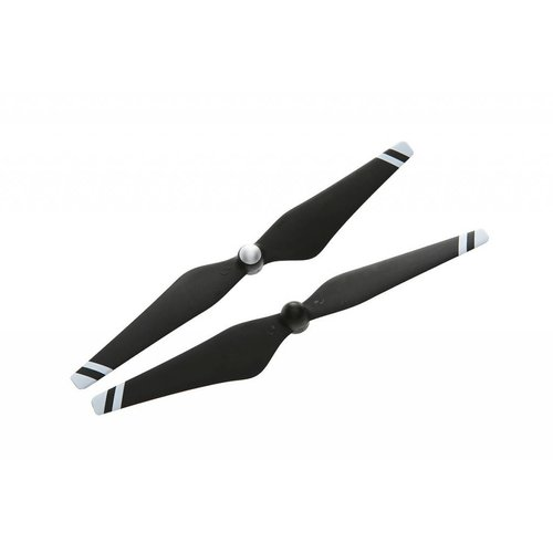 DJI 9450 Carbon Fiber Reinforced Self-tightening Propellers (Composite Hub, Black with White Stripes)