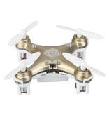 Cheerson CX-10 Mini 29mm 4CH 2.4GHz 6-Axis Gyro LED RC Quadcopter Gold