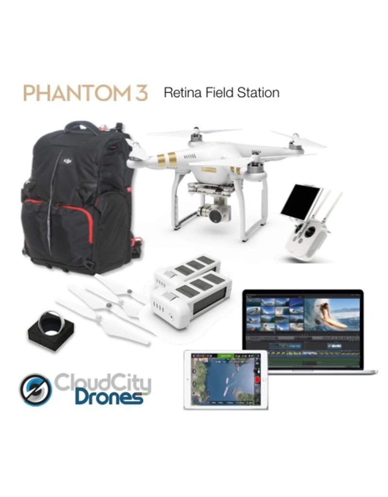 DJI Phantom 3 Retina Field Station Bundle