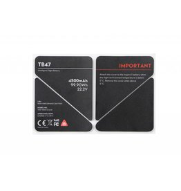 DJI Inspire 1 - TB47 Battery Insulation Sticker (Part 50)