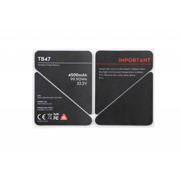 DJI Inspire 1 - TB47 Battery Insulation Sticker (Part 50)
