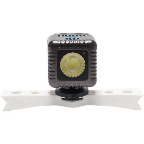 Lume Cube Lume Cube Two Gunmetal Grey Lume Cubes with Two White Mounting Bars for DJI Phantom 3 Quadcopter