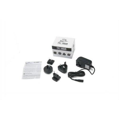 FatShark Fat Shark Battery charger with US/EU/UK/AU prongs