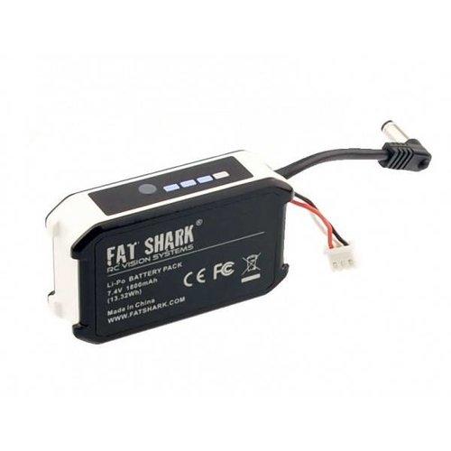 FatShark 7.4V 1800mAh battery pack w/LED indicator