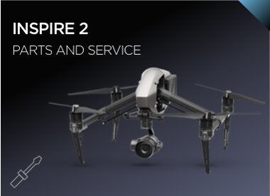 Inspire 2 Parts and Service