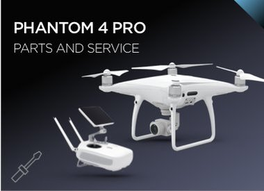 Phantom 4 Pro Parts and Service