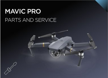 Mavic Pro Parts and Service