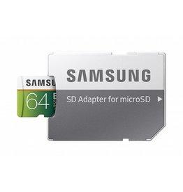 Samsung Samsung 64GB 100MB/s (U3) MicroSDXC EVO Select Memory Card with Adapter (MB-ME64GA/AM)