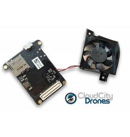 DJI Phantom 4 Video Processing Board with Fan