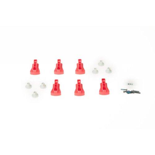 DJI MATRICE 600 Red Rotatable Clamp Kit