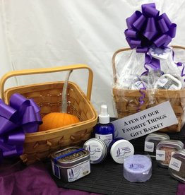 Lavender Wind A Few of Our Favorite Things Lavender Gift Basket
