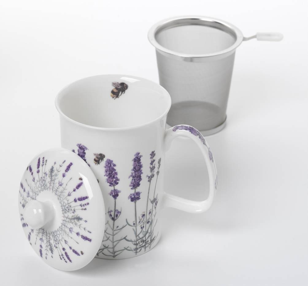 Ashdene Mug, Infuser & Top (3 pc) - Ashdene