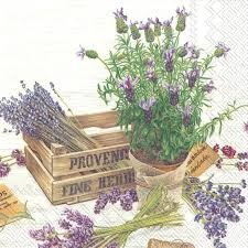 Flavor of Provence Lunch Napkin