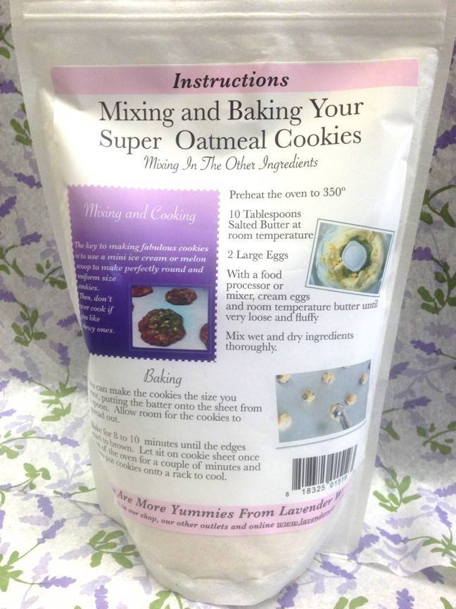 Super Oatmeal Cookie Mix