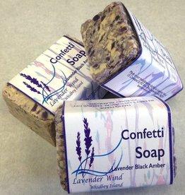 Lavender Wind Confetti Soap