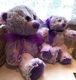 "Lavender Wind Stuffed Bear, ""Lavendula"", 8"""