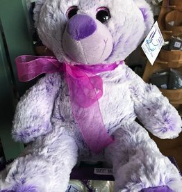"Lavender Wind Stuffed Bear, ""Lavendula"" 16"""