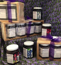 Lavender Wind Wood Gift Set - Blackberry & Blueberry Jams