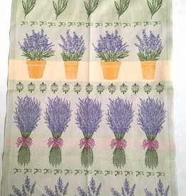 Tea Towel - Swedish, Lavender, Rectangle