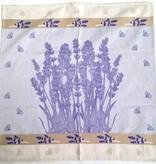Tea Towel - Square, Lavender, 26x26